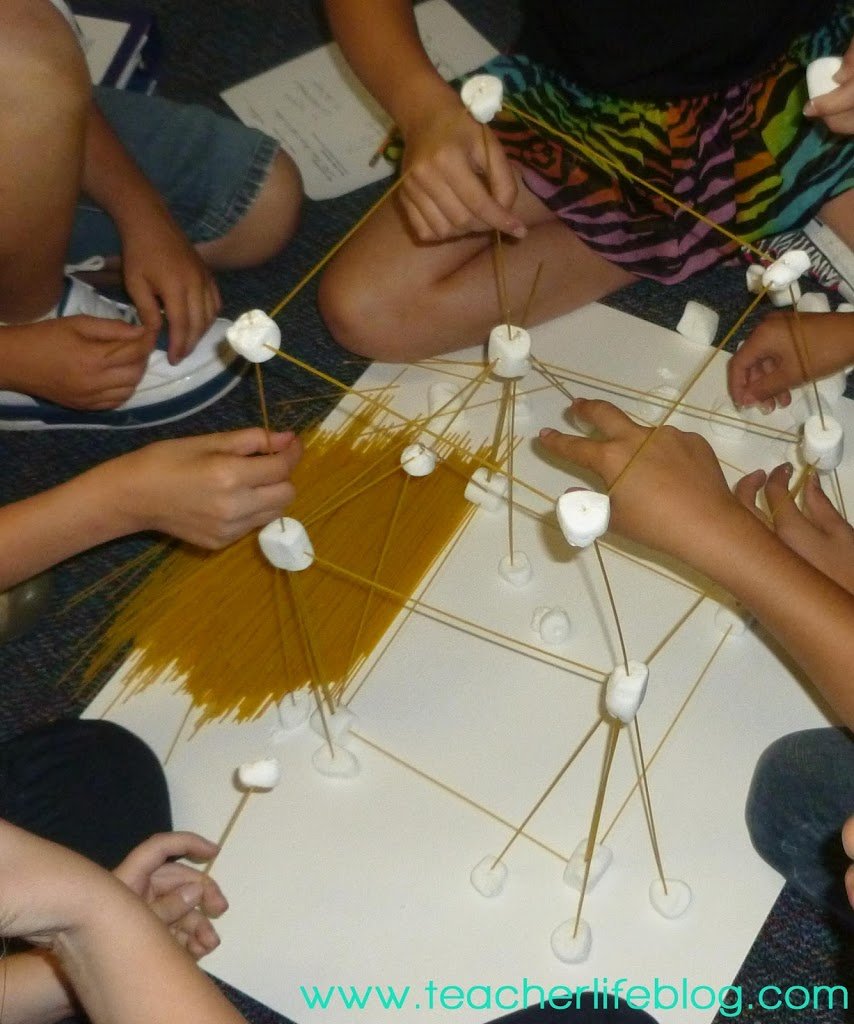 spaghetti marshmallow towers a scientific method investigation. Black Bedroom Furniture Sets. Home Design Ideas